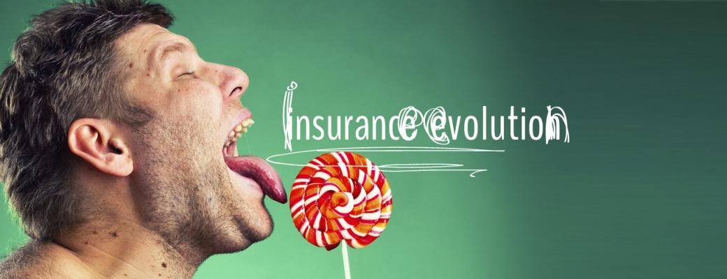 Insurance evolution Exponent